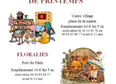 affiche floralies