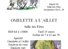 affiche omelette